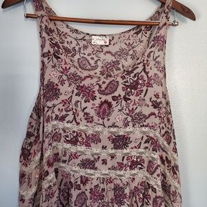 Intimately free people floral lace dress